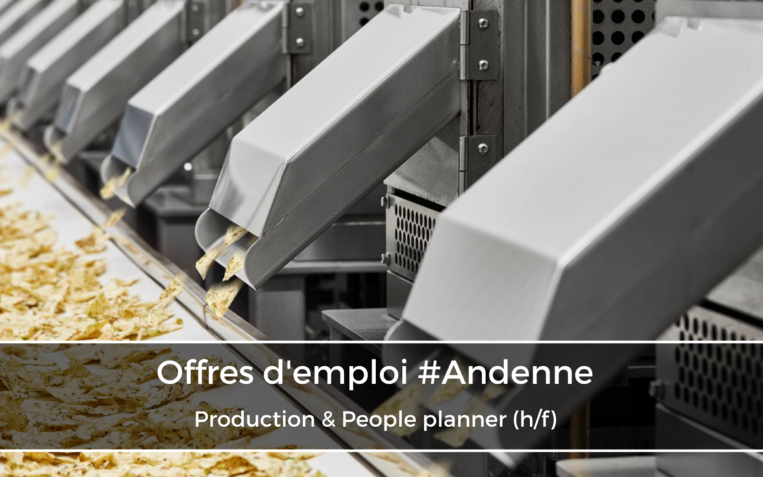 Production & People planner (h/f)