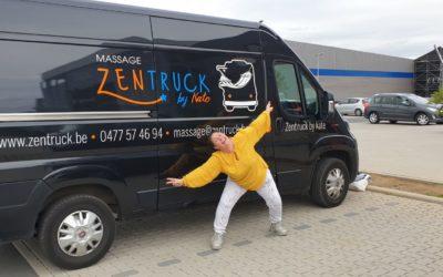 Le ZenTruck by Kate : une nouvelle activité de massage itinérant s'installe à Andenne