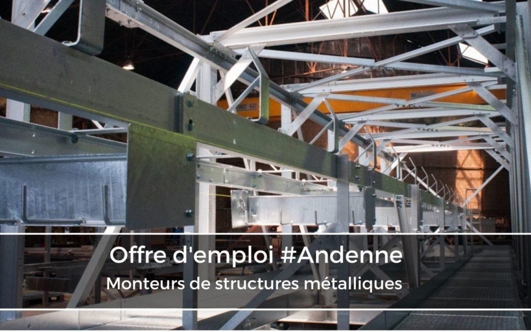 Monteurs de structures métalliques (h/f)