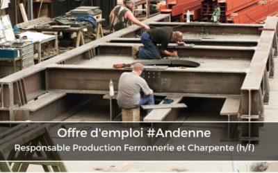 Responsable Production Ferronnerie et Charpente (h/f)