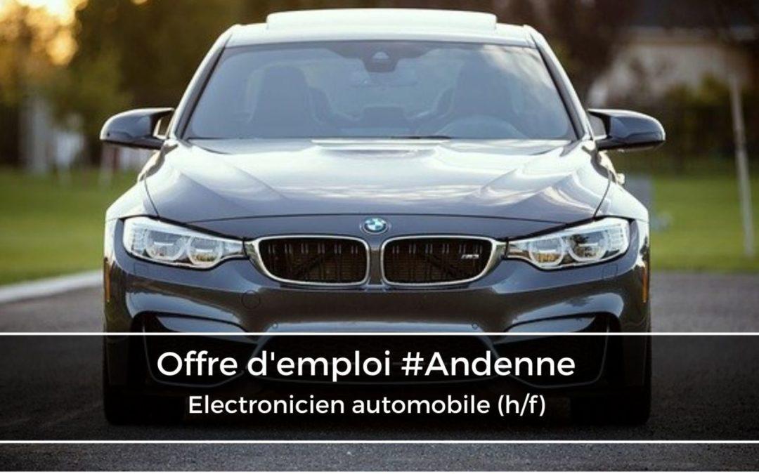 Électronicien automobile (h/f)