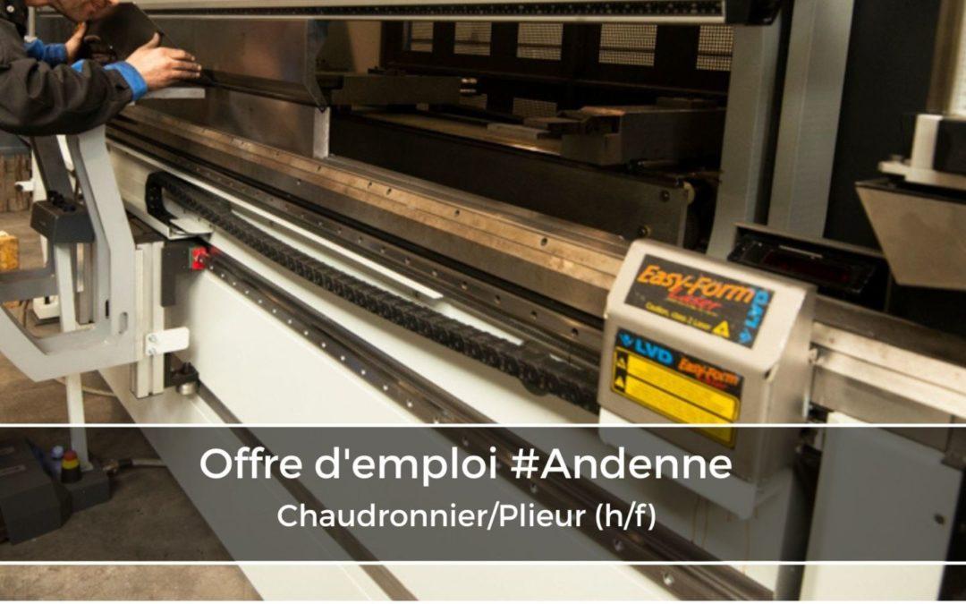 Chaudronnier/Plieur (h/f)