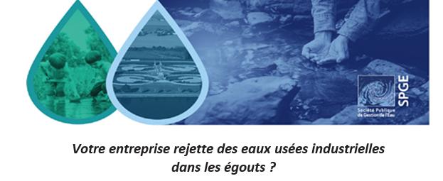 Conférence sur la réforme législative pour la gestion des eaux industrielles en Wallonie
